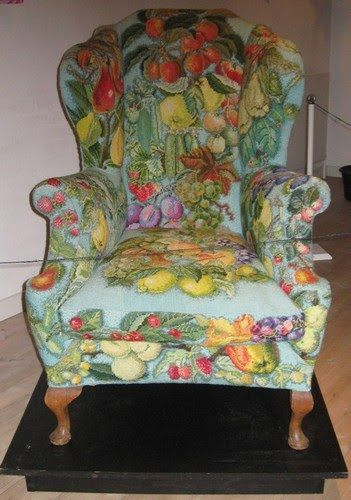 Another needlepoint chair.