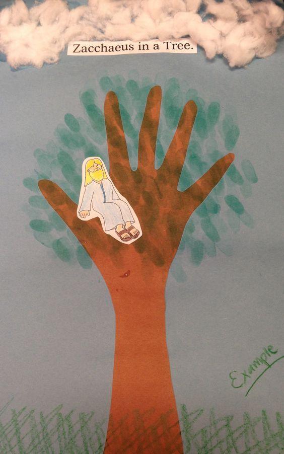 Jesus Meets Zacchaeus Crafts