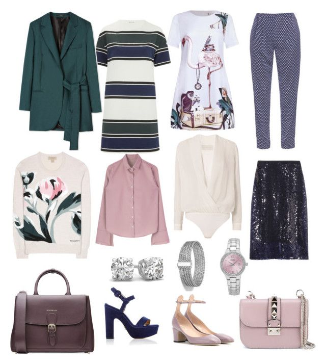 """Capsule 2"" by dariamedvedeva on Polyvore featuring Wood Wood, Paul Smith, Burberry, Dion Lee, Valentino, Michelle Mason, Diane Von Furstenberg, Seiko and John Hardy"
