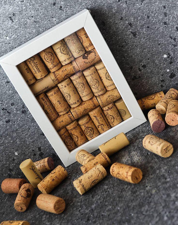 Pre milovníkov vína / korková dekorácia