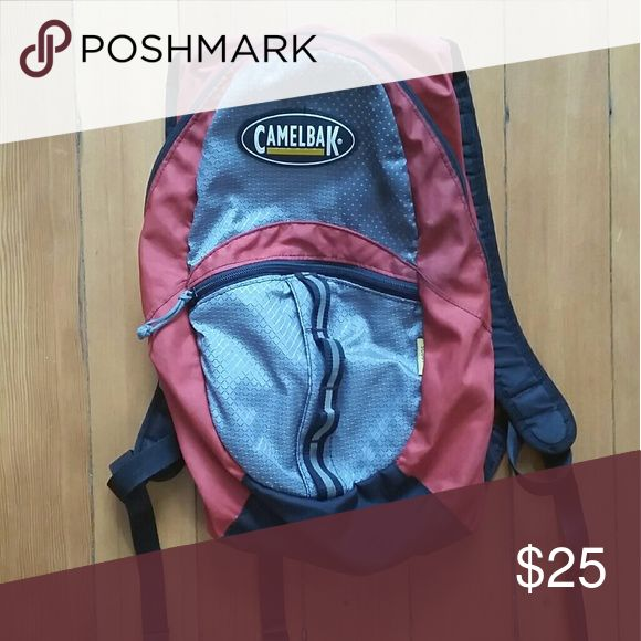 Camelbak small hiking backpack Great open main compartment with nearly new bladder Camelbak Bags Backpacks