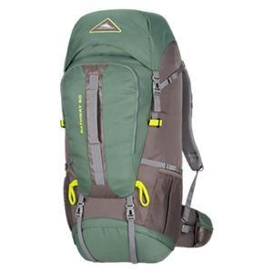 High Sierra Pathway 60L Internal Frame Backpack - Pine/Slate/Chartreuse
