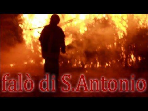 Falò di S. Antonio alla cascina Linterno di Milano