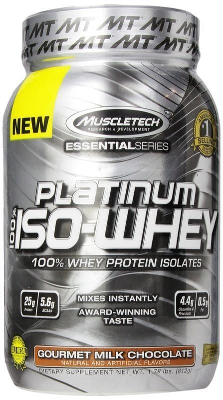 MuscleTech Essential Series 100% Platinum Iso-Whey, 1.79 Lbs.**NEW YEAR'S SALE** #MUSCLETECH