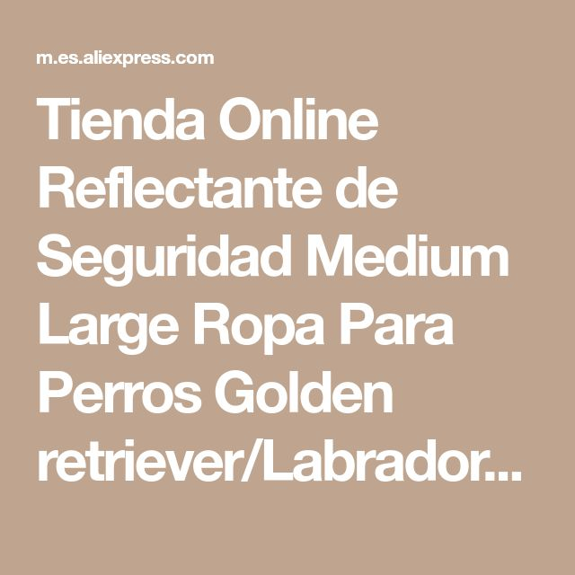 Tienda Online Reflectante de Seguridad Medium Large Ropa Para Perros Golden retriever/Labrador Al Aire Libre Impermeable Transpirable Ropa Para Mascotas Chaqueta de la Capa Suave | Aliexpress móvil