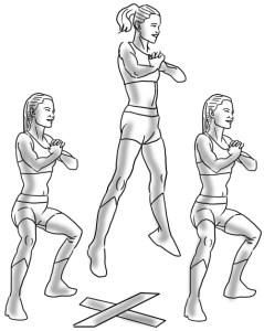 Female MMA fighters have amazing bodies. That's because MMA involves so many techniques that the entire body is worked through a full range of motion. Arms, legs, belly, butt, core, everything.