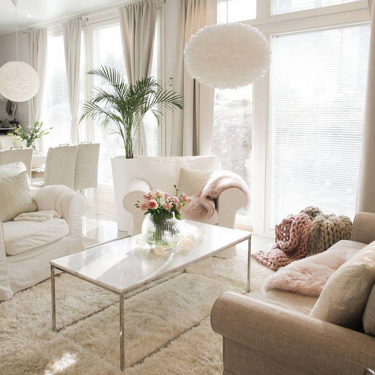 3,836 отметок «Нравится», 21 комментариев — Annika Seppälä, 31 (@pellavaa_ja_pastellia) в Instagram: «Have a lovely evening💕 #sunday  #endoftheday #homeinterior #livingroom»