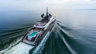 The sublimely silent 66m ISA superyacht Okto