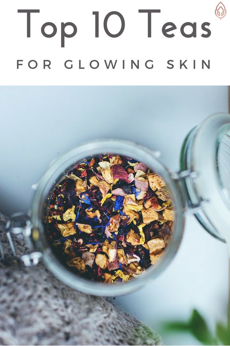 Tea can not only give you a little health boost but also help you to get radiant and glowing skin natural.  http://embalmskincare.com.au/top-10-teas-glowing-skin/ #skincare #complexion #naturalremedies #tea