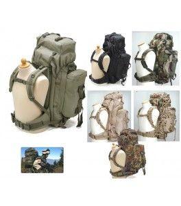 100L leger militaire stijl wanndelen, outdoor, rugzak / rucksack / mountian / dagpacks