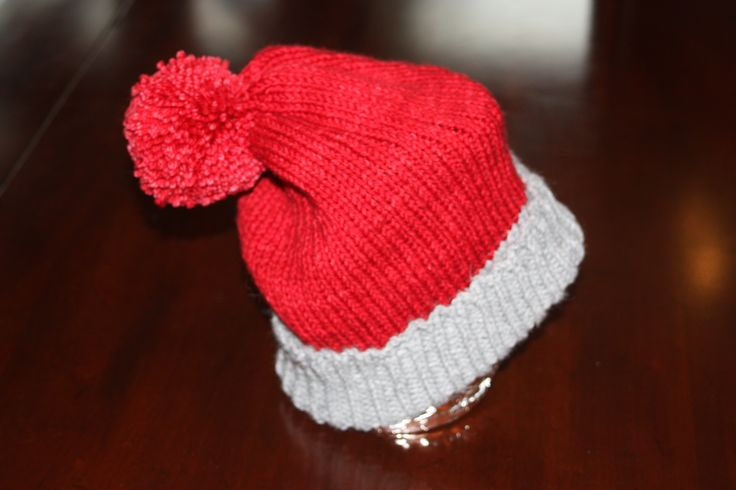 slouchy ski hat... love the red!!