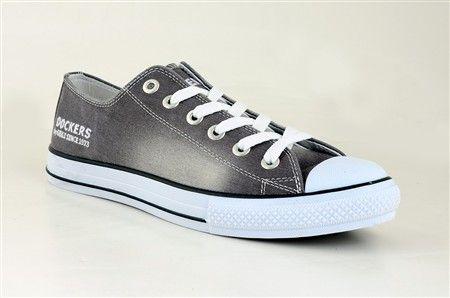 Dockers Erkek Ayakkabı 212390 Gri fırçalı keten