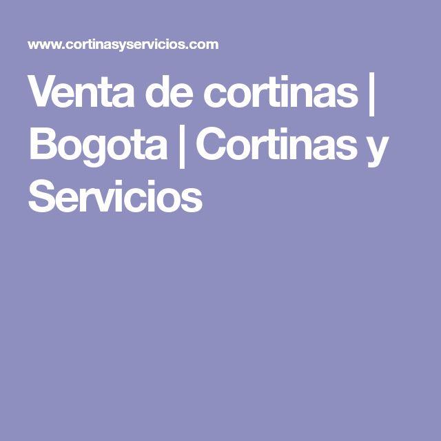 Venta de cortinas | Bogota | Cortinas y Servicios