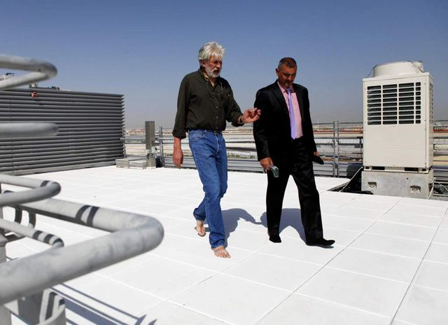Reflective paint to cut rooftop temperatures in the UAE by 20 percent
