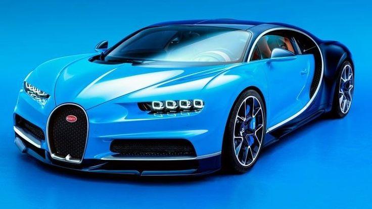 Test driver puts $2.5 million Bugatti in the ditch