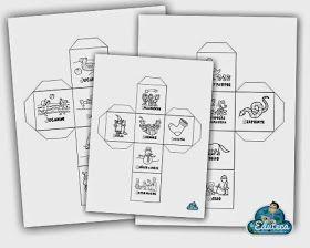 Dados para crear historias. En formato pdf