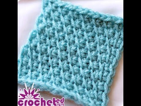 Tunisian Crochet How-To The Bias Stitch - YouTube