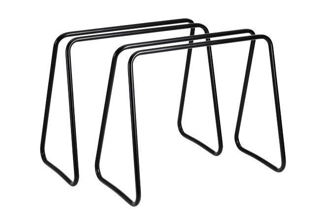 "One table"" designet af Nicholai Wiig Hansen. Materiale sort metal. Pris: 2.325 kr. Normann Copenhagen."