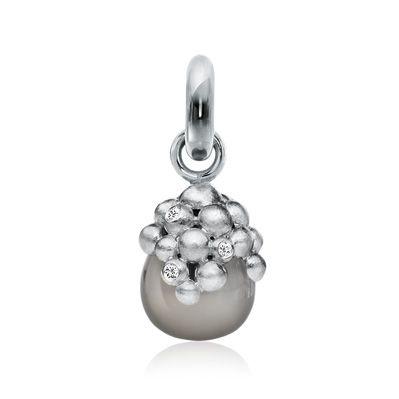 Sweet drops, 18K m. månesten, sweet drops fra Ole Lynggaard | Dirks Design