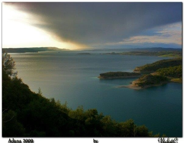 Seyhan Lake, Adana, Turkey