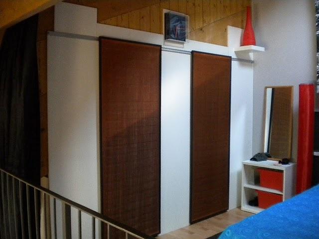 17 best images about sliding track doors on pinterest for Ikea sliding barn doors