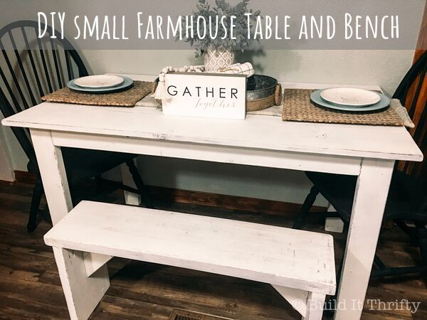 Small Farmhouse Table In 2020 Farmhouse Table Small Farmhouse