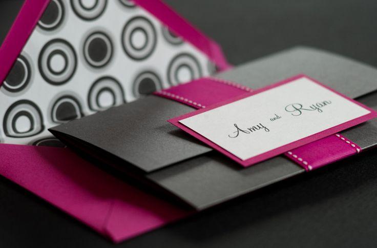 Pink-Black-Ampersand-Wedding-Invitations-Envelope
