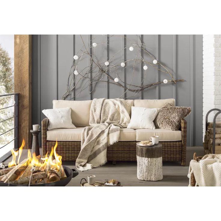Birch lane heritage lawson sofa with cushions reviews