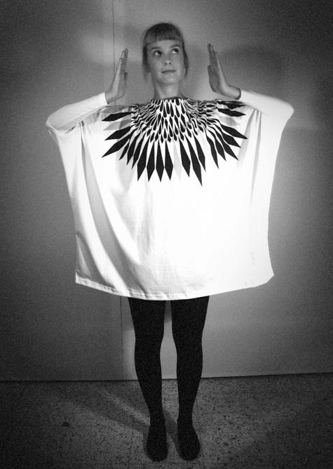 """""""Sulka"""" design by Kristiina Haapalainen 2011."""