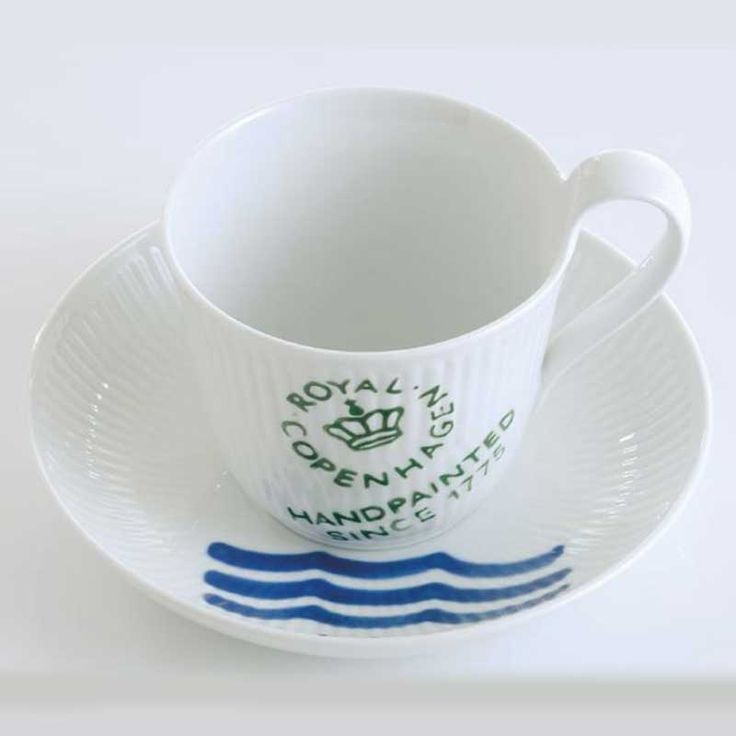 Coffee Cup with Saucer, Royal Copenhagen x 2, bought in Denmark 2011.