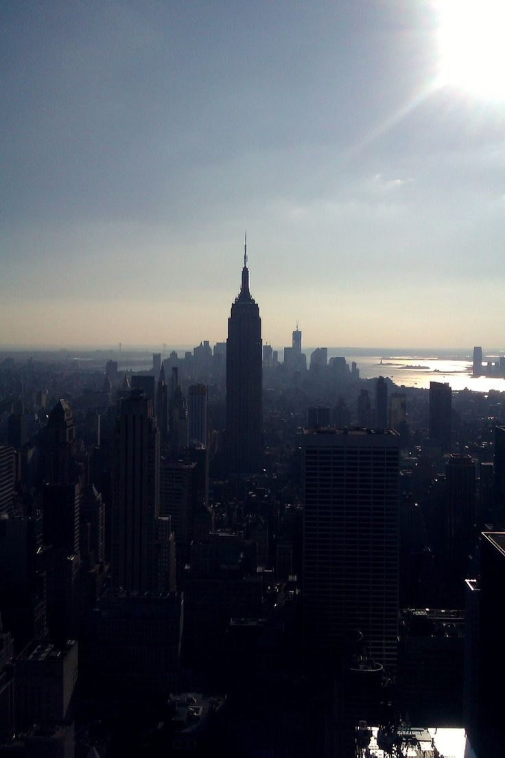 Empire state, solitary.