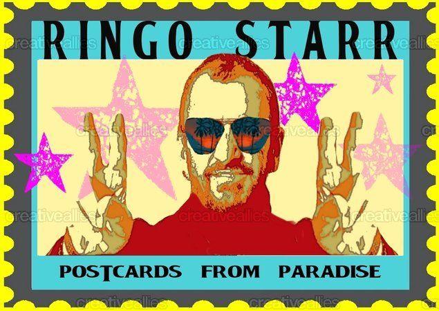 Ringo Starr Poster by Candyeye on CreativeAllies.com