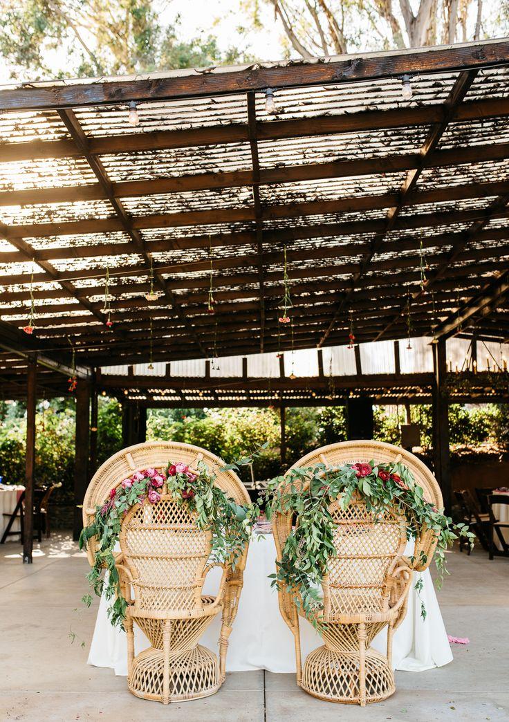 bohemian sweetheart table chairs - http://ruffledblog.com/fiesta-inspired-san-diego-wedding