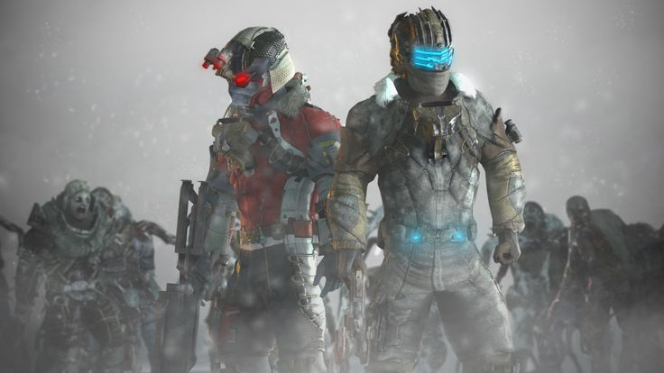 Dead Space 3 Garrys Mod By Sidezeo Deviantar On Deviantart Dead Space Dead Space Suits Alien Avatar