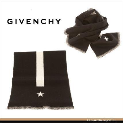 ●セール●ジバンシィ ストライプ&スター スカーフ マフラー GIVENCHY 2016 ファッション