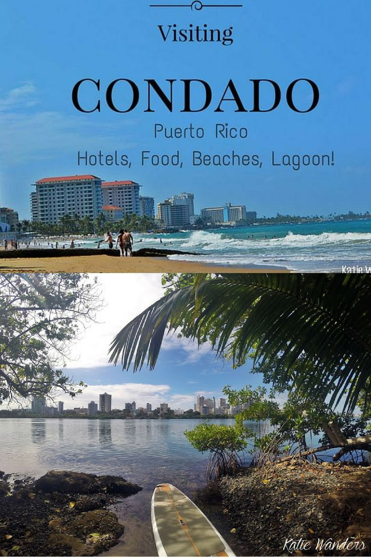 What you need to do when visiting the Condado area of Puerto Rico, right outside Old San Juan.  Gorgeous trendy area with amazing food and a lagoon, biking distance into Old San Juan.