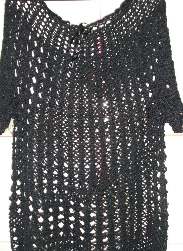 Blusa modelo Si Rezende