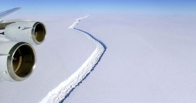 AWAKENING FOR ALL: Giant Iceberg poised to Break Off Antarctica!
