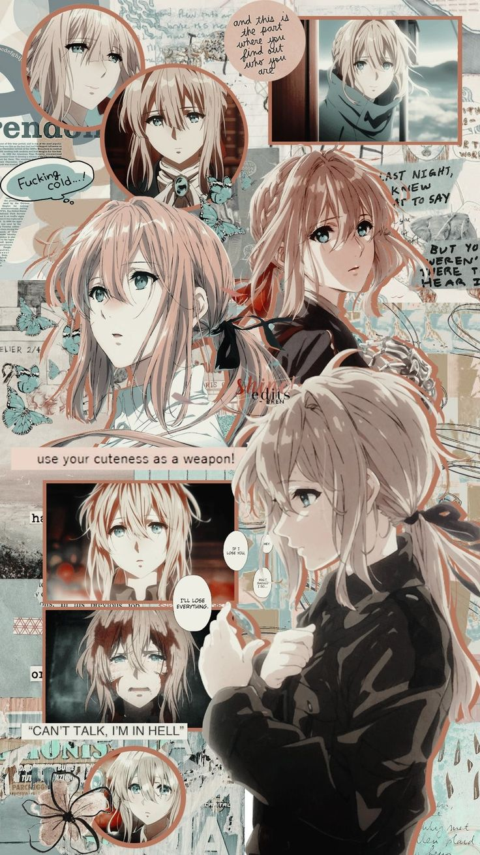violetttt em 2020 Animes wallpapers, Personagens de