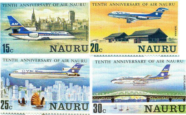 AIR NAURU AVIATION http://utopiaairport.blogspot.com/2013/05/air-nauru-story-through-its-stamps.html