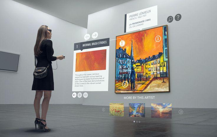Moverio BT-350, al museo con la realtà aumentata di Epson