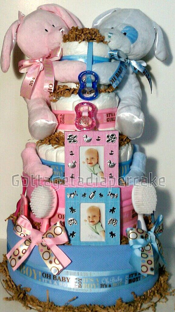25 Best Ideas About Twin Diaper Cake On Pinterest Baby