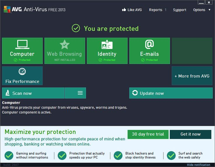Fresh The New AVG Antivirus Free es with some great features Automatic update functionality