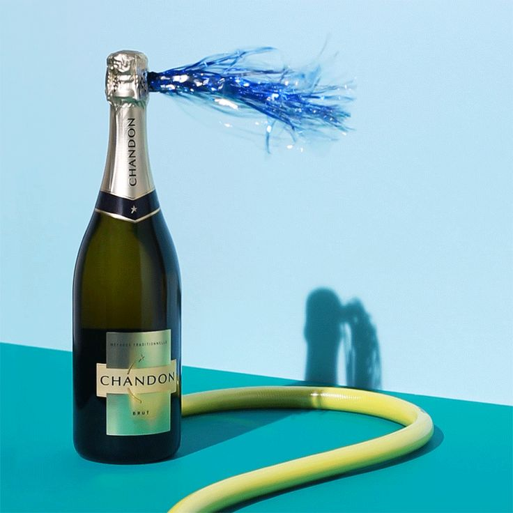 #art #gif #chandon #cheers #champagne #alcohol