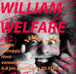 Listen: The Unhappy Hour  - William Welfare in studio