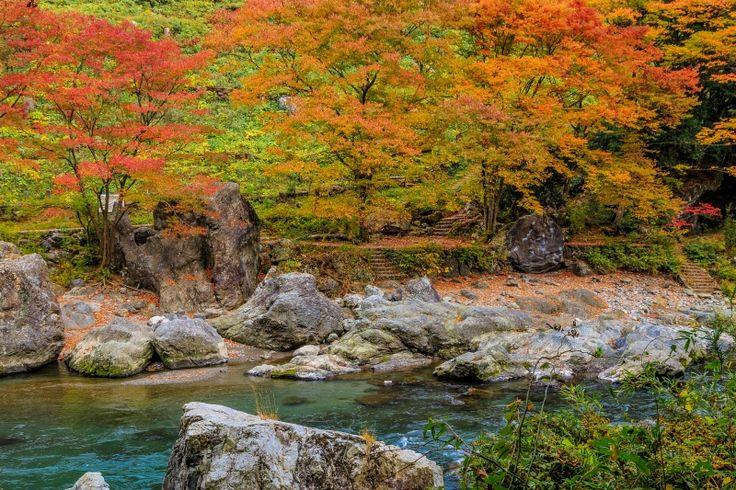 Mitake keikoku Tokyo 東京 御岳渓谷