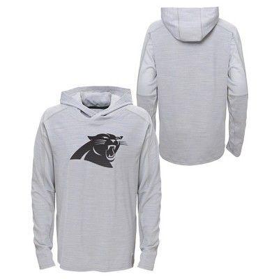 Activewear Sweatshirt NFL Carolina Panthers Team Color S, Boy's