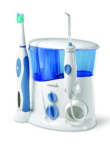 Waterpik Complete Care WP900 Waterflosser and Sonic Toothbrush, http://www.amazon.co.uk/dp/B009HPB42M/ref=cm_sw_r_pi_awdl_1gvXub0F0EH5A
