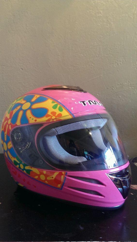 Hot Pink Womens Motorcycle Or Scooter Helmet DOT #Helmets ...