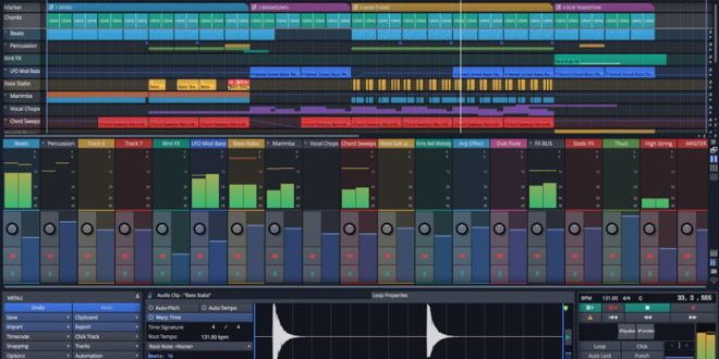 Waveform 9 DAW by Tracktion - New Features | Music Loops
